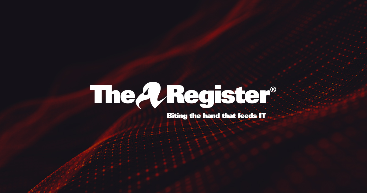The Register: Sci/Tech News for the World